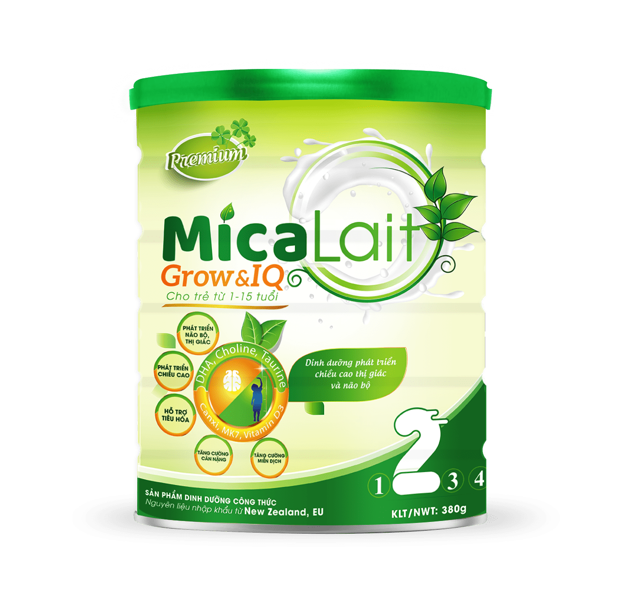 Sữa Micalait Grow & IQ