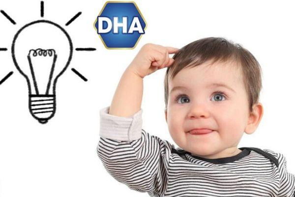bổ sung DHA cho bé bao nhiêu là đủ
