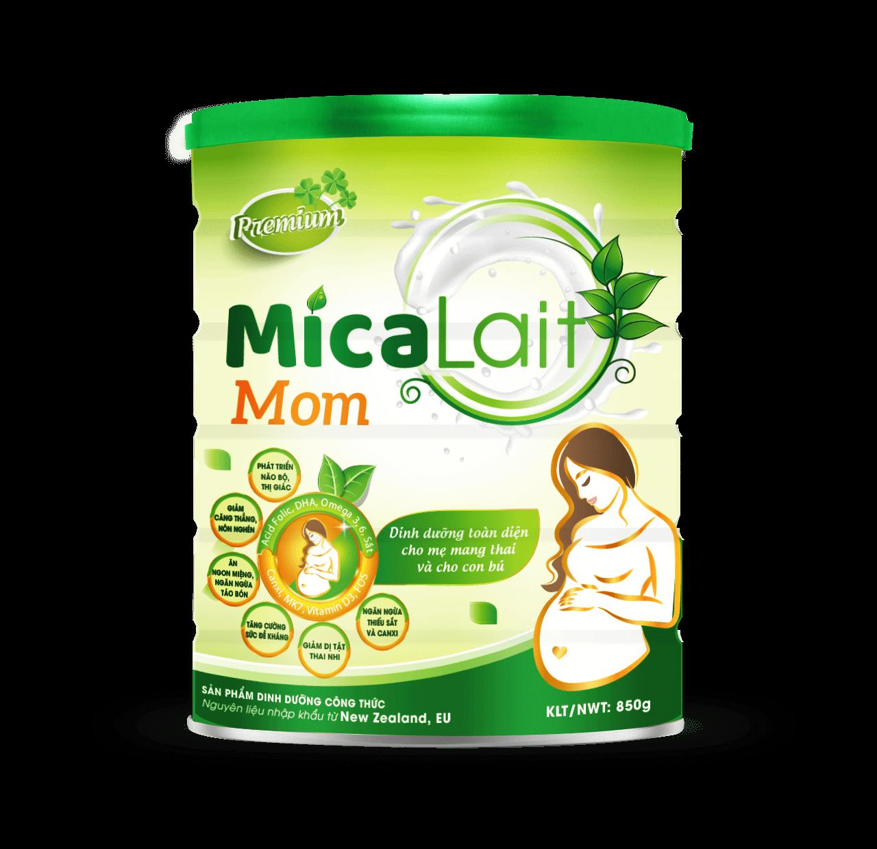 Sữa Micalait Mom