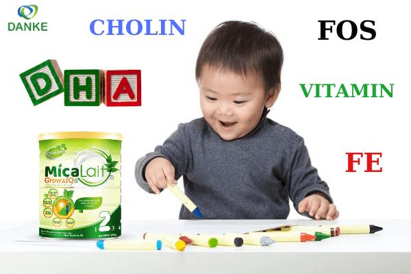 sữa phát triển trí não cho bé trên 1 tuổi, sữa phát triển trí não tốt nhất