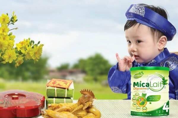 món ăn cho trẻ ngày Tết