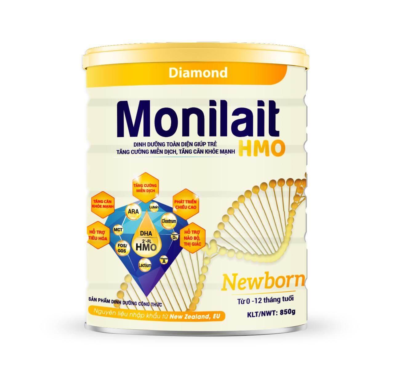 Sữa Monilait Newborn