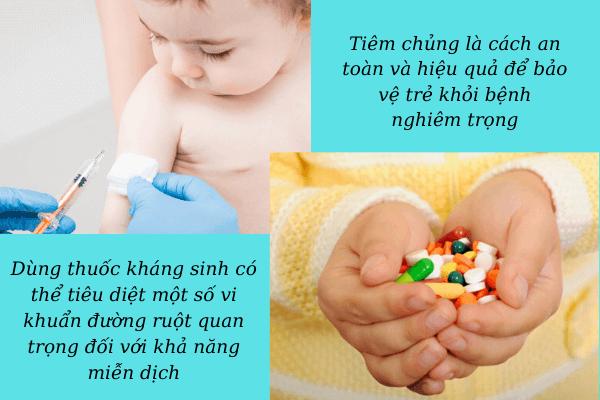 hệ miễn dịch của trẻ
