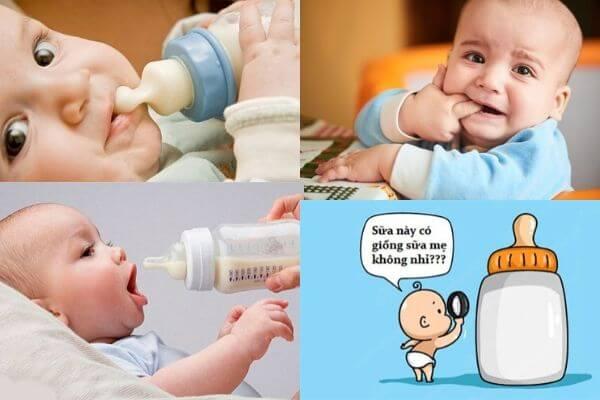 bé 14 tháng tuổi không chịu uống sữa, bé 5 tháng lười uống sữa, bé 8 tháng lười uống sữa, bé 12 tháng không chịu uống sữa