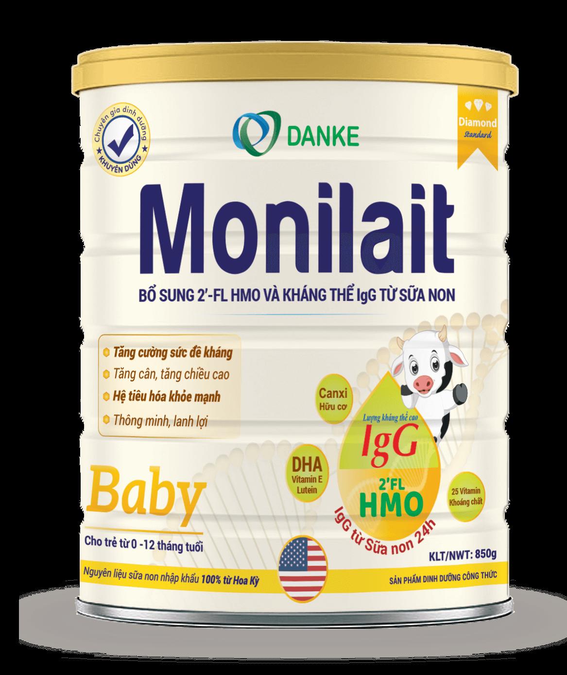 Sữa Monilait Baby