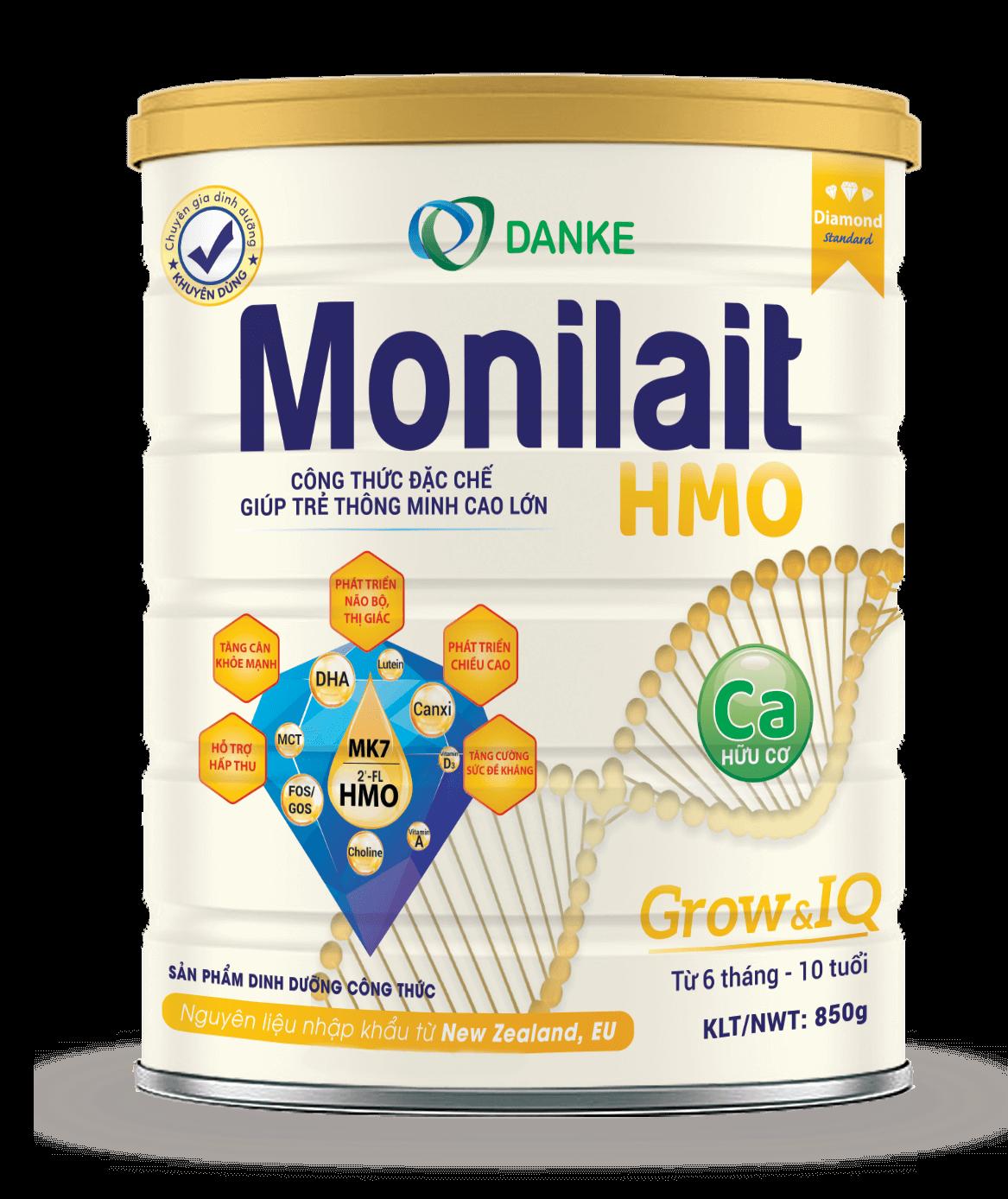 Sữa Monilait Grow & IQ