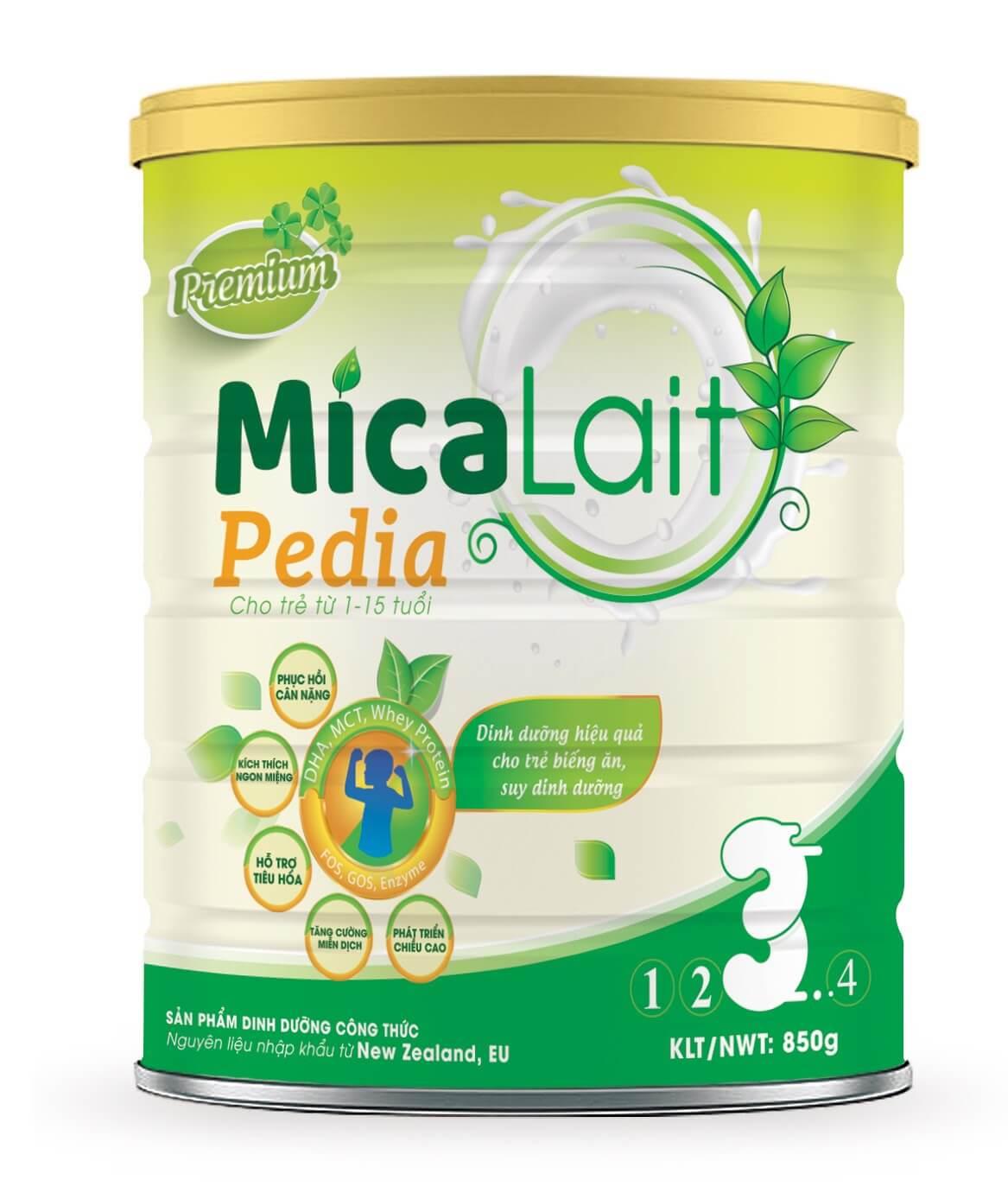 Sữa Micalait Pedia