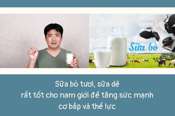 Đàn ông nên uống sữa gì, Sữa gì tốt cho nam giới, Sữa tốt cho nam giới, Sữa bột dành cho nam giới