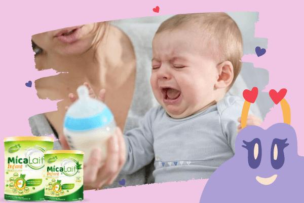 Trẻ uống sữa công thức đi ngoài mấy lần