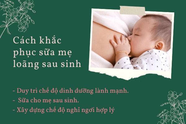 Cách khắc phục sữa mẹ loãng, Có phải sữa mẹ loãng nên con tăng cân chậm, Sữa mẹ loãng ăn gì cho đặc, Sữa cho mẹ sau sinh