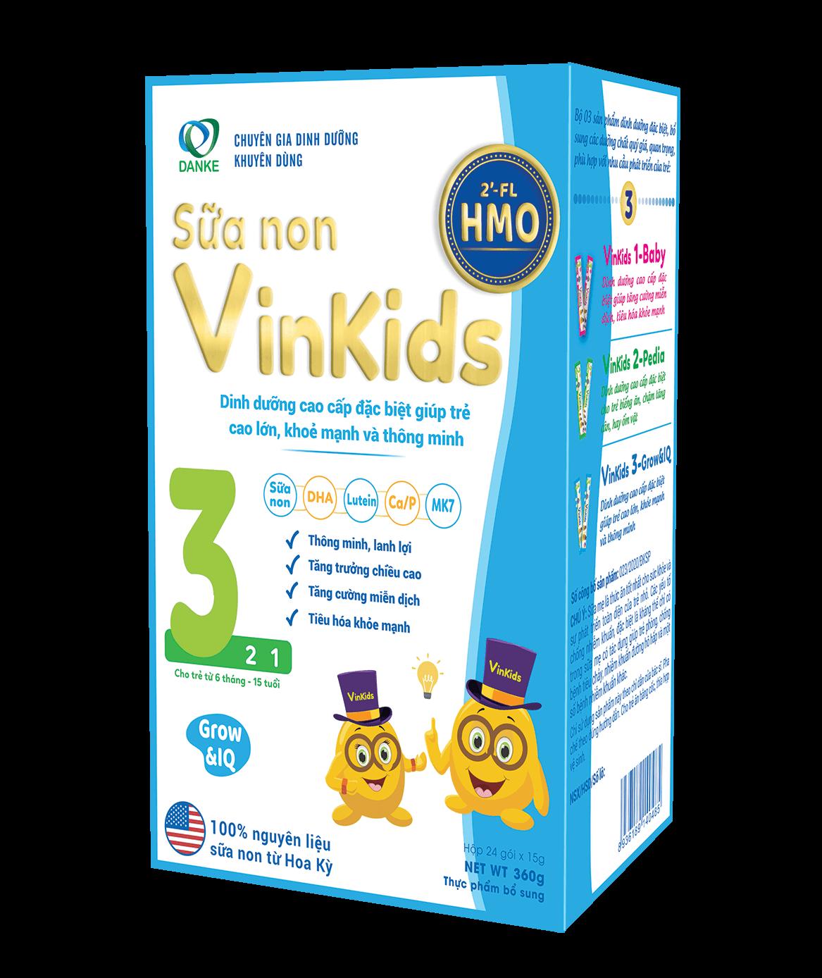 Vinkids Số 3 Grow & IQ